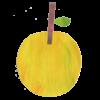 りんごの「蜜」は、実はそれ自体は甘くありません。 「蜜」と呼ばれる黄色く透き通った部分は、「ソルビトール」という 糖質アルコールの一種で、りんごの甘みを作る元になるものですが、 りんごが完熟すると、ソルビトールは糖分に変換するのをやめてしまいます。 つまり蜜が入っているということは、これ以上甘くなる必要はないほどに完熟しているよ、ということなのです。